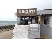 Isle of Wight Steephill Cove Beach Shack