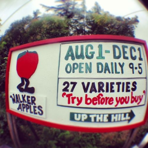 Walkers apples sonoma county